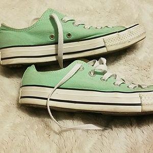 Converse Shoes - Mint Green Converse
